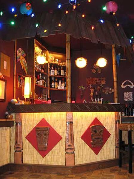 Tiki bar by Wes Bailey