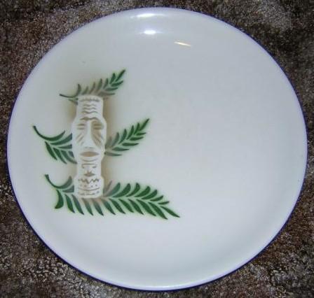 Tiki-Kate's Other Tiki Plate