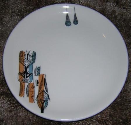 Tiki-Kate's Tiki Plate
