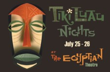 Tiki Luau Nights, artwork by Kevin Kidney