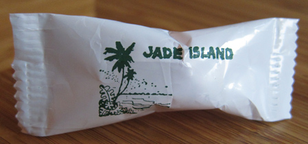 An after-dinner mint from Jade Island
