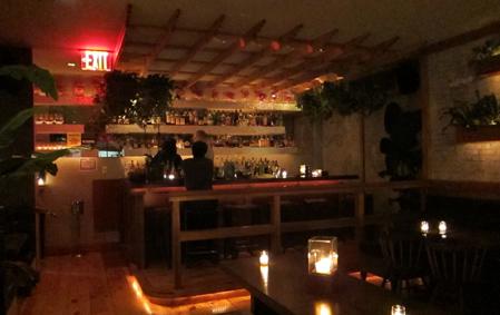 The upstairs bar at Lani Kai