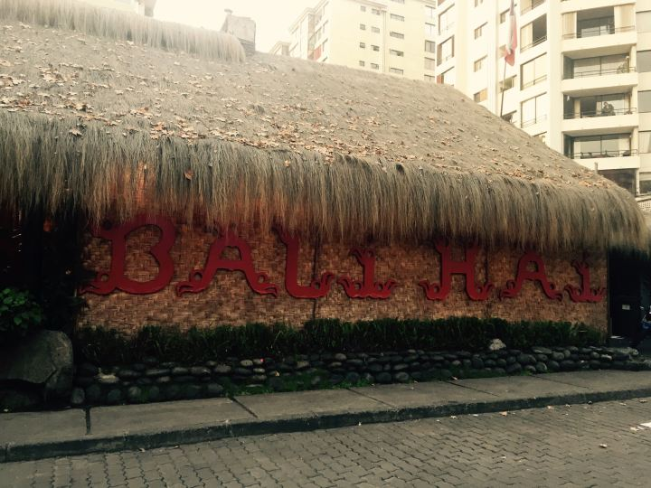 The exterior of Bali Hai in Santiago, Chile