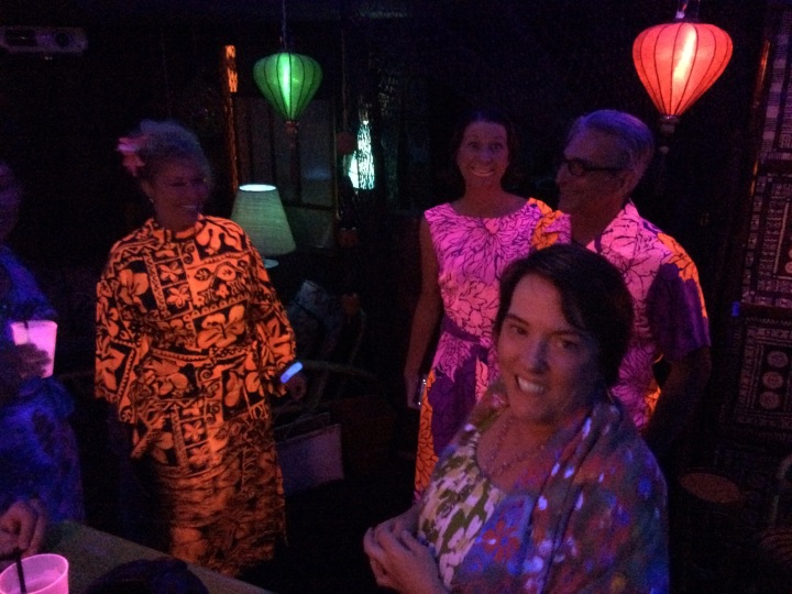 Blacklight Aloha guests