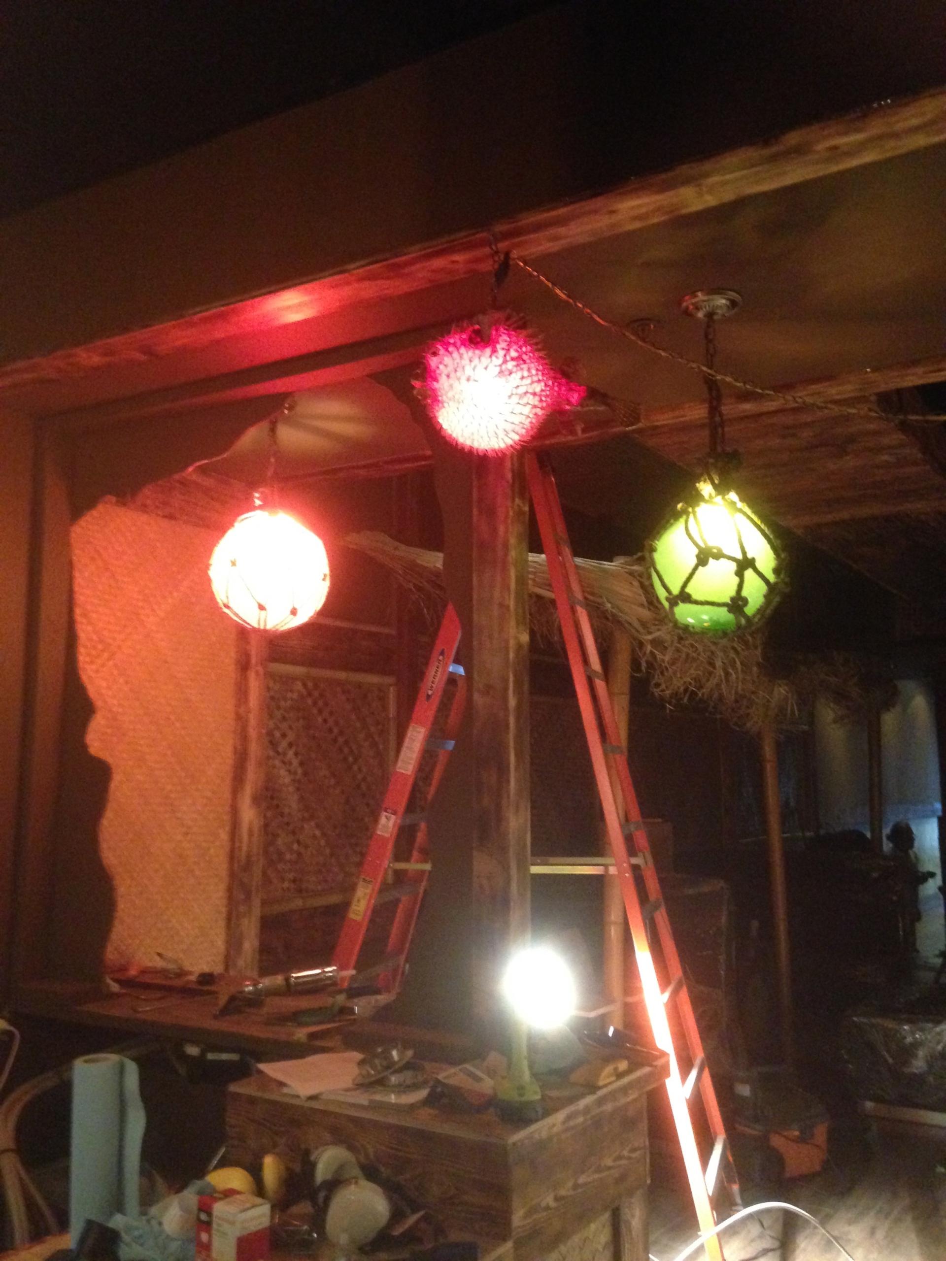 In-progress build of Toronto's Shameful Tiki Room