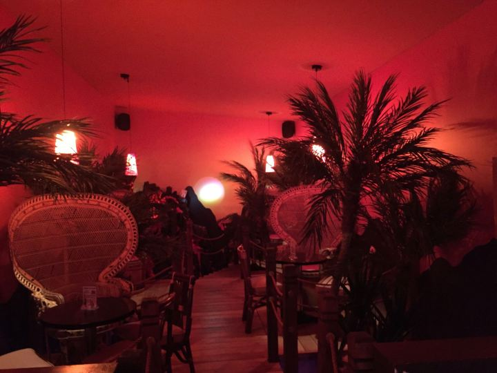 Volcano, a new bar at Hôtel-Motel Coconut