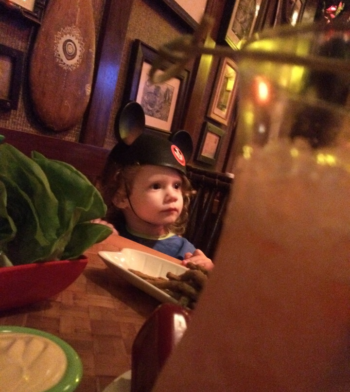 Wanda is mesmerized by the action at Trader Sam's