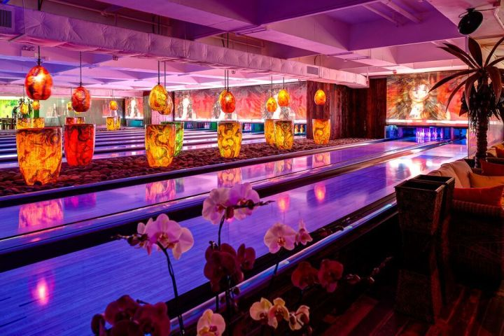 Krakatoa Lanes at Tikitiki Bowling Bar in Sai Kung, Hong Kong
