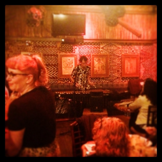 Fisherman Trio performing at Trader Vic's in 2014