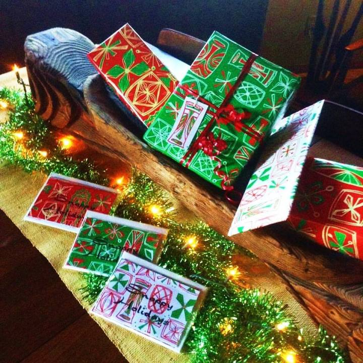 Gift wrap and greeting cards by Sophista-tiki