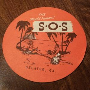 Coaster for The S.O.S.