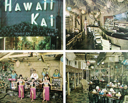 Hawaii Kai postcard, from the collection of Mimi Payne
