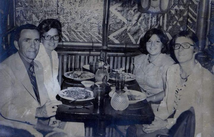 Souvenir photo taken at Hawaii Kai in New York City in August 1977, from the collection of ronsteve