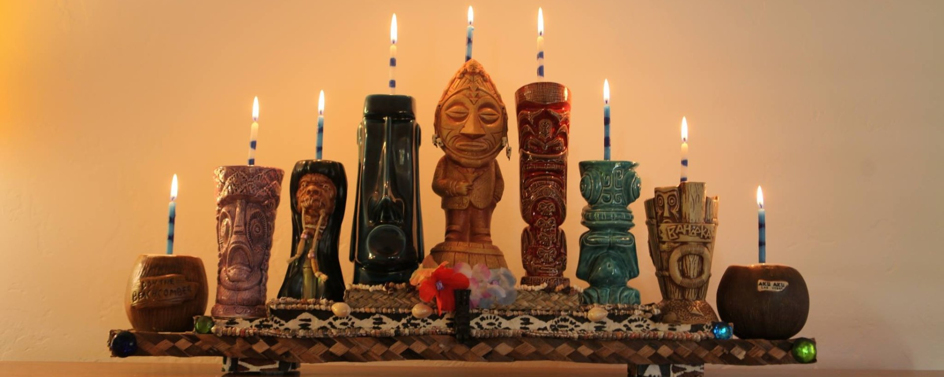 Tiki Mug Menorah A How To From Poly Hai Critiki News Lighting Diagram