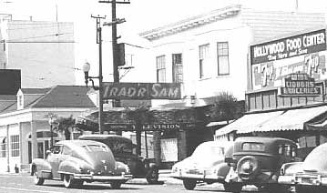 Trad'r Sam in 1949, picture from the Western Neighborhoods Project, contributed by Jack Tillmany