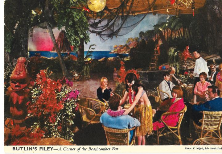 Butlin's Beachcomber Bar in Filey