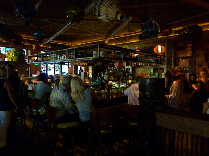The bar at Trader Vic's in Portland, by Critiki member Lucky Jackson