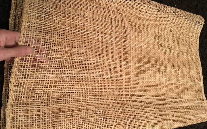 Abaca cloth