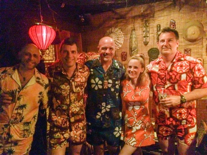 Cabana set party at Balhi Ha'i