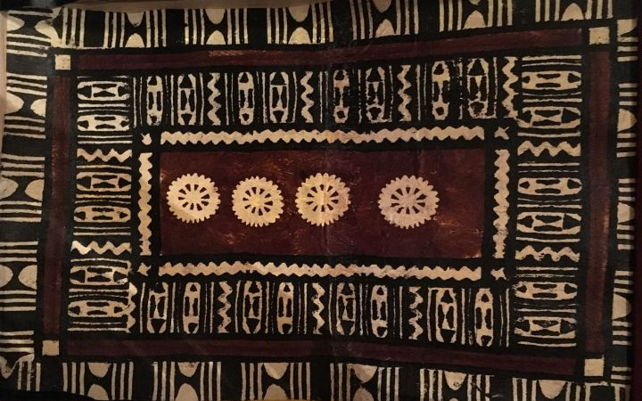 Fijian tapa cloth
