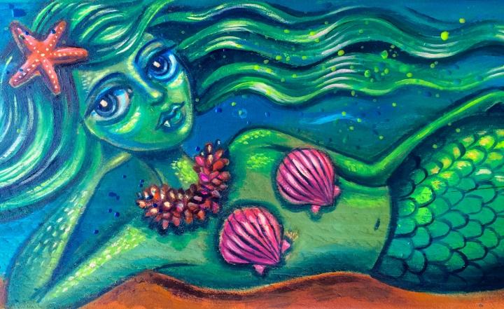 Mermaid by Christine Benjamin