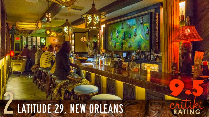 2, Latitude 29, New Orleans, 9.5