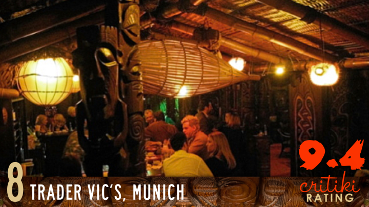 8, Trader Vic's, Munich, 9.4