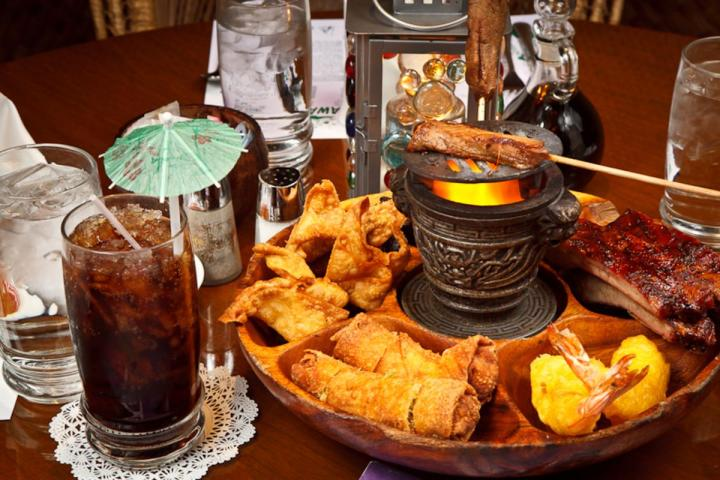 Fiery Pu-Pu Platter at The Omni Hut in Smyrna, Tennessee