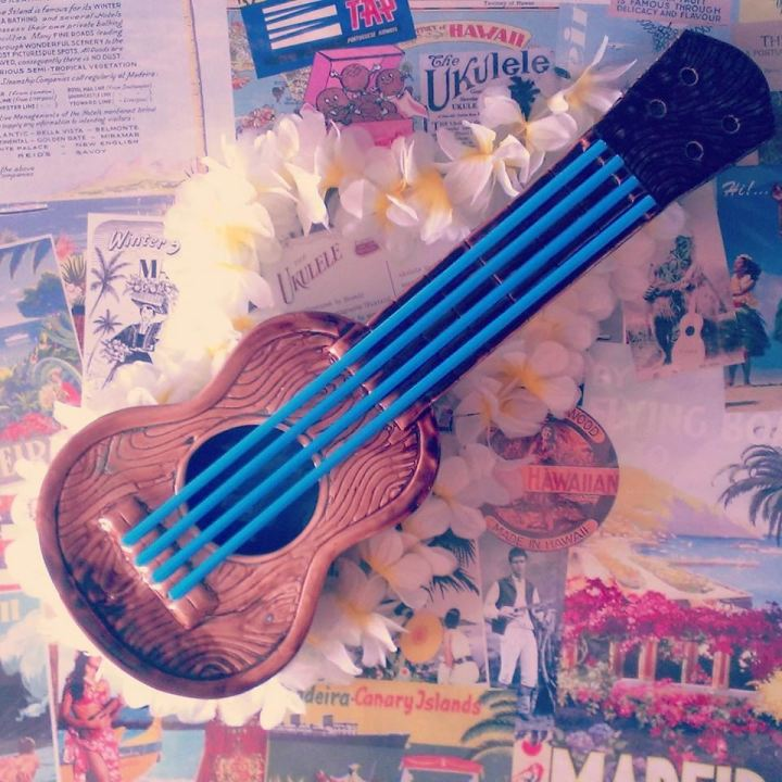 The Ukulele, a shared bowl drink at Pukiki