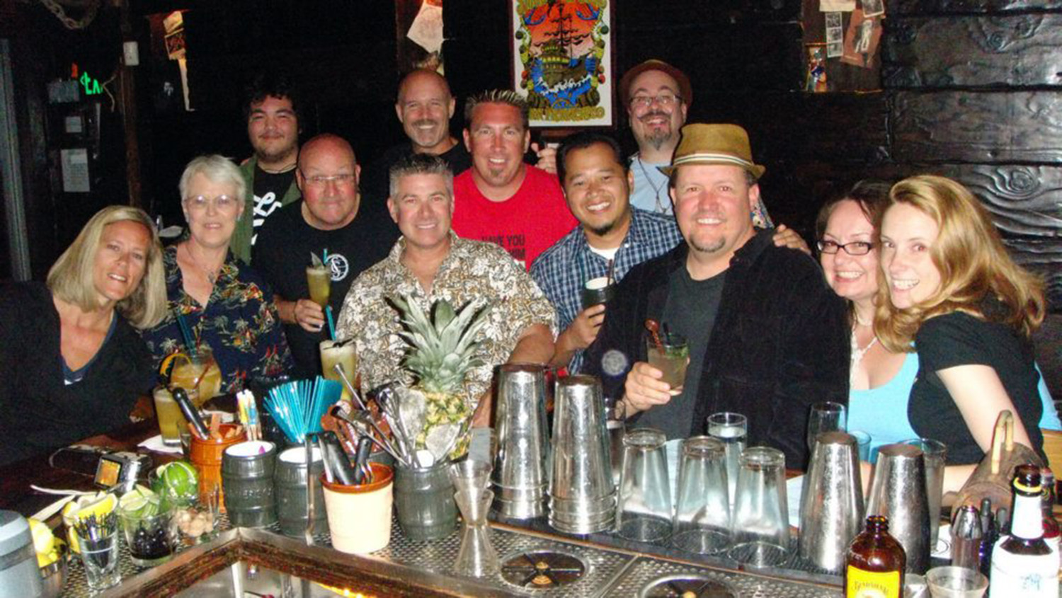 Tikiphile meetup at Smuggler's Cove, photo by Adrian Eustaquio