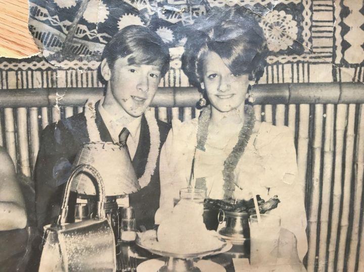 Critiki member ksasmith's parents at Hawaii Kai in New York in 1970