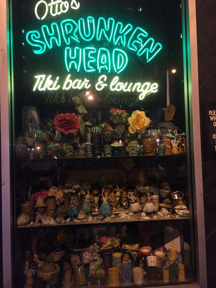 Otto's Shrunken Head, photo by Critiki member PKJC