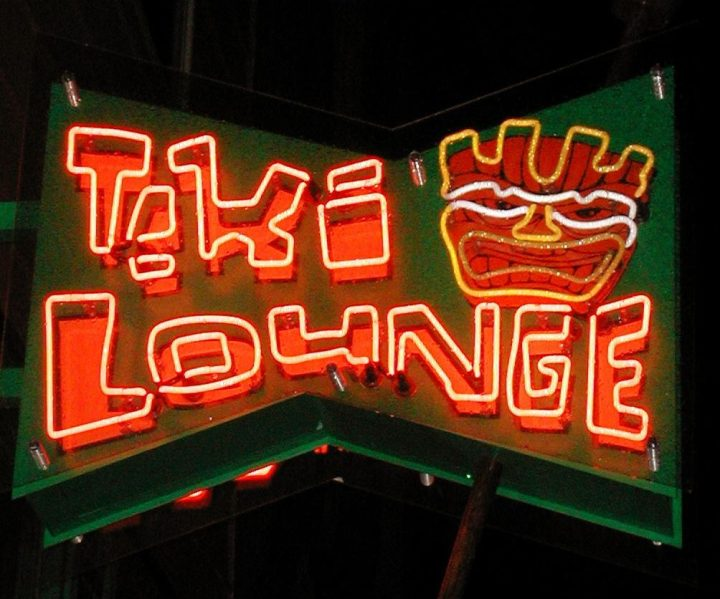 Tiki Lounge, Pittsburgh, photo by Kevin Ruppenthal