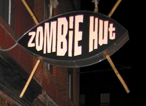 Zombie Hut, photo by Humuhumu