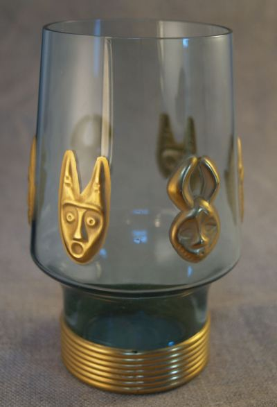 Voodoo Grog glass in the collection of Da Kine