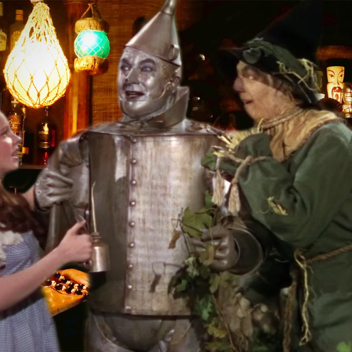 The Tin Man needs oil!